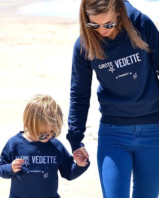 hoodie grote vedette / adults