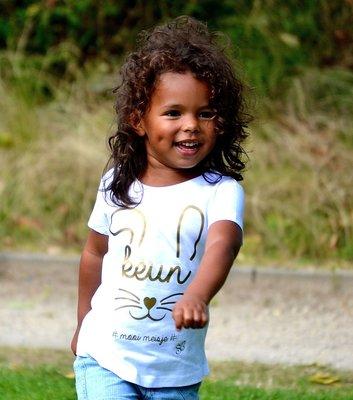 t-shirt keun / kids