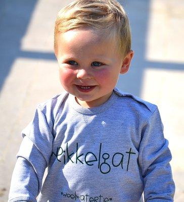 sweater wrikkelgat / baby