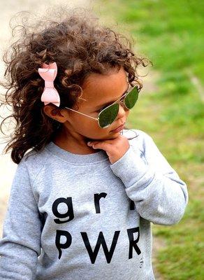 sweater grl pwr / kids