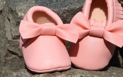 charmy mini mocassin - vieux rose