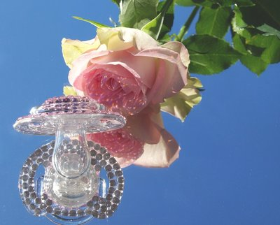 anna - speentje met steentje (avent) roze