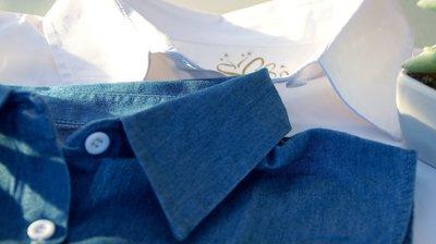 Célia - hemdskraagje