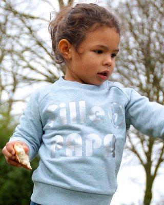 SWEATER FILLE À PAPA / KIDS-ADULTS