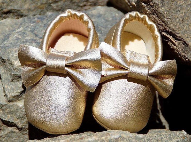 charmy mini mocassin - goud