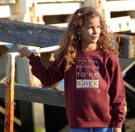 sweater 'tis the season to be sjiek / kids