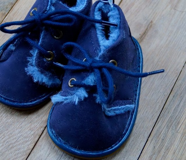 PAUL - winter sneaker - blauw